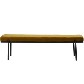 House Doctor Bench Lao Dark Olive Seat height: 45 cm l: 160 cm w: 40 cm h: 45 cm