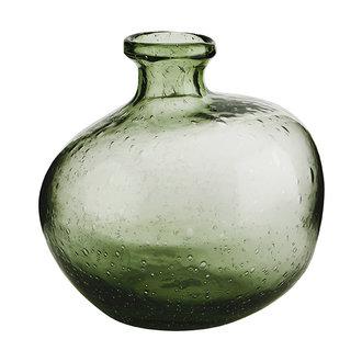 Madam Stoltz Organic shaped glass vase