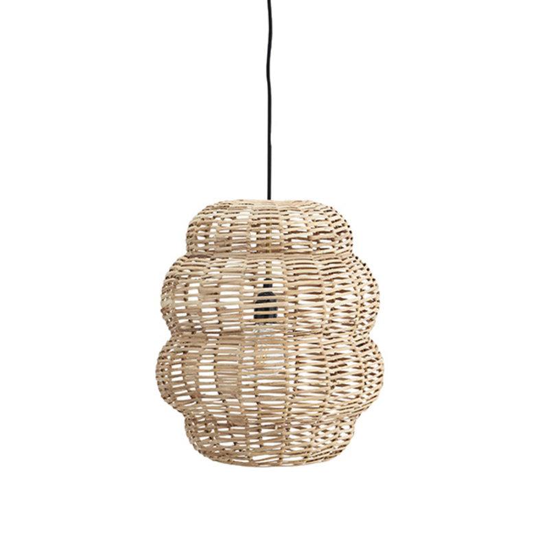 Madam Stoltz-collectie Hanglamp bamboe rond