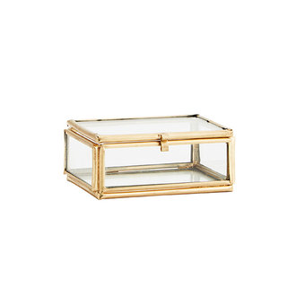 Madam Stoltz RECTANGULAR GLASS BOX