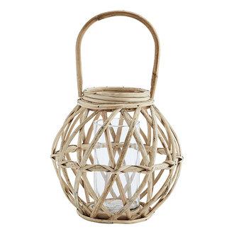 Madam Stoltz Ronde lantaarn bamboe
