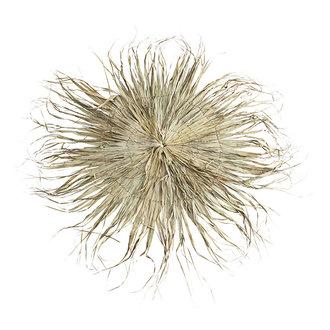 Madam Stoltz Rond wandkleed palmblad