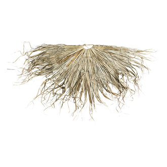 Madam Stoltz Wandkleed palmblad half rond