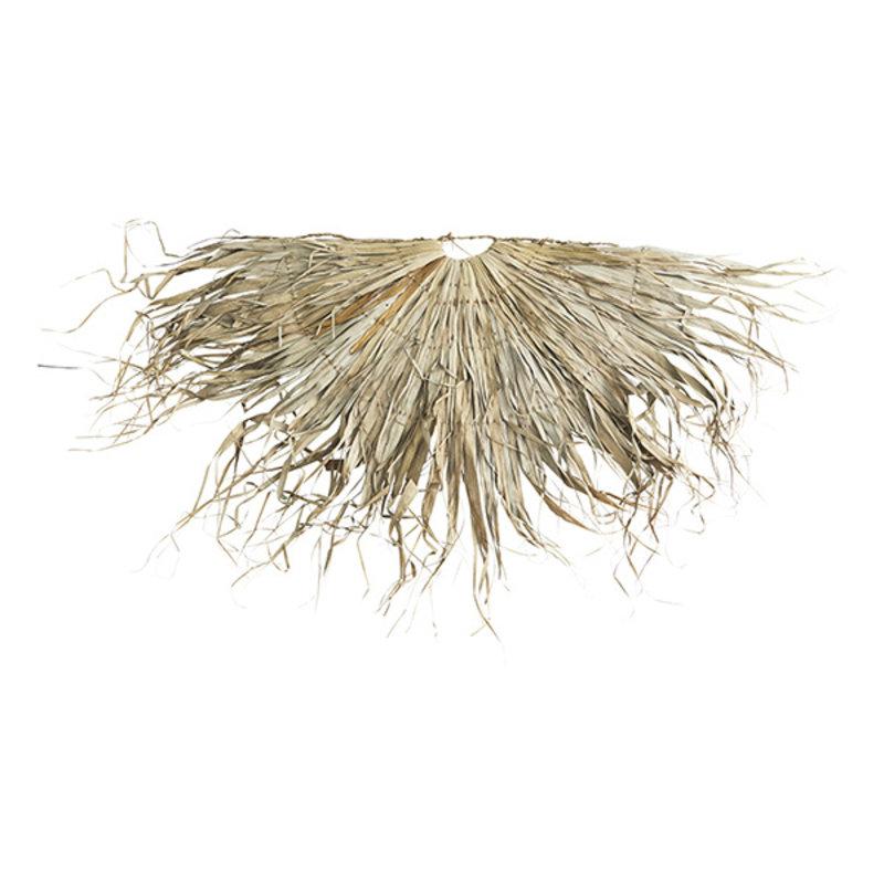 Madam Stoltz-collectie Wandkleed palmblad half rond
