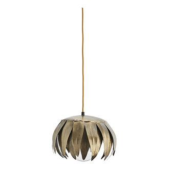 Madam Stoltz Iron ceiling lamp Ant.brass D:28x22 cm