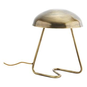 Madam Stoltz Tafellamp antiek brass