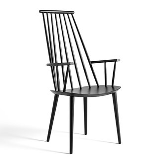 HAY J110 CHAIR Black stained beech