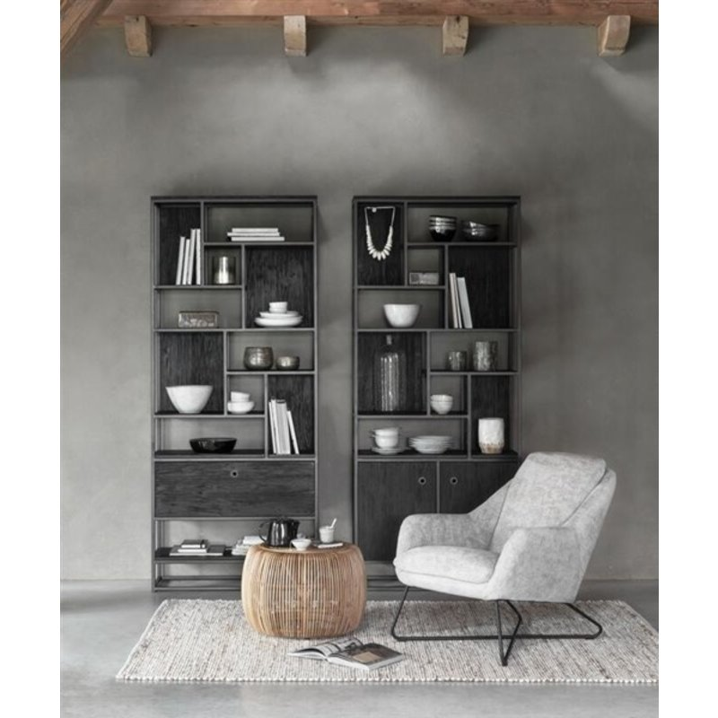 MUST Living-collectie Loungestoel Dream taupe