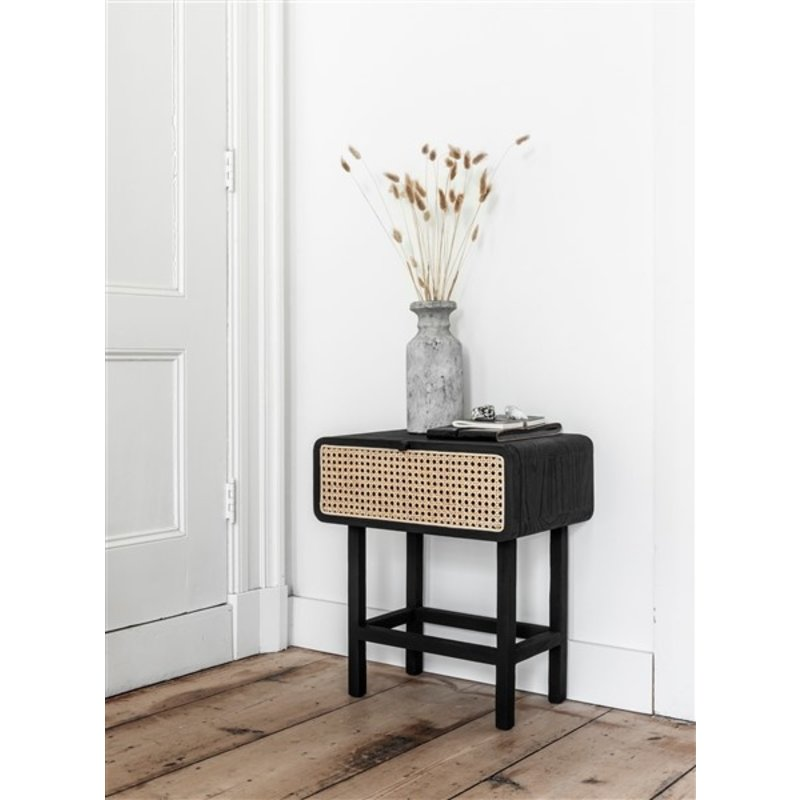 MUST Living-collectie Side table Raffles, flap panel