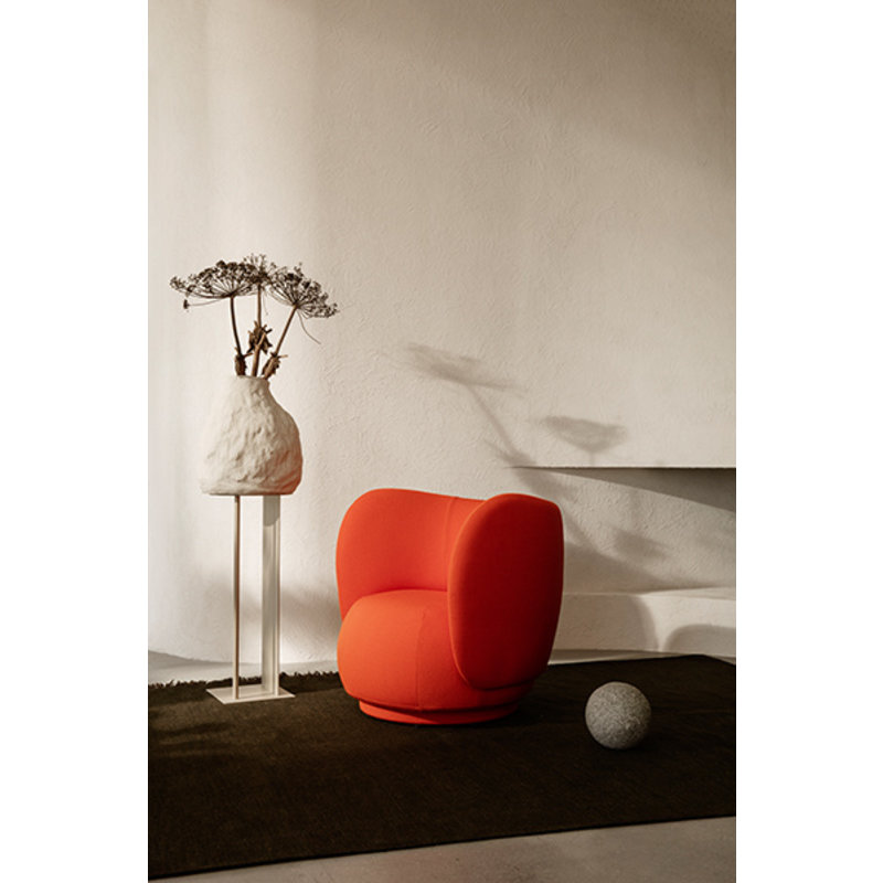 ferm LIVING-collectie Rico Lounge Chair Off-White - Copy