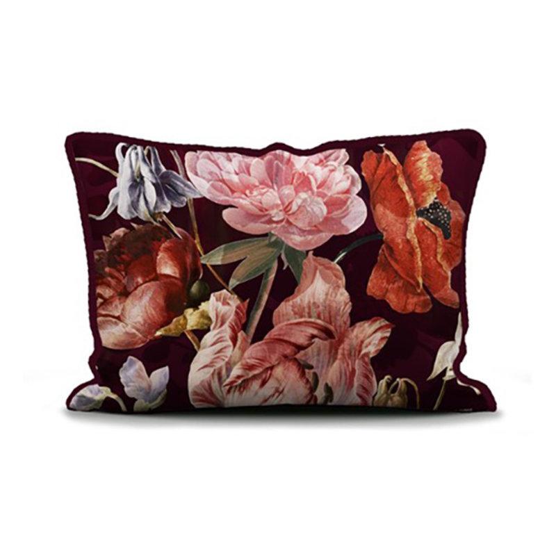 Essenza-collectie Essenza Filou Duvet cover 1p set 140x220+60x70 Cherry