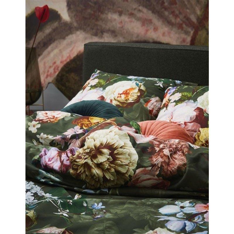 Essenza-collectie Dekbedovertrek Fleur Groen