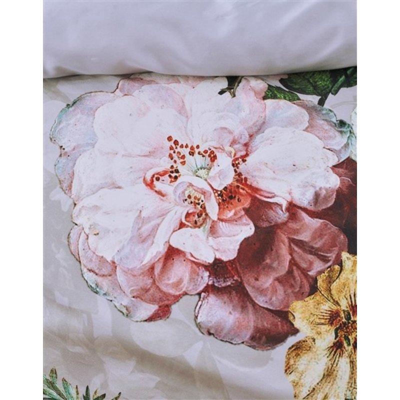 Essenza-collectie Dekbedovertrek Fleur Grijs