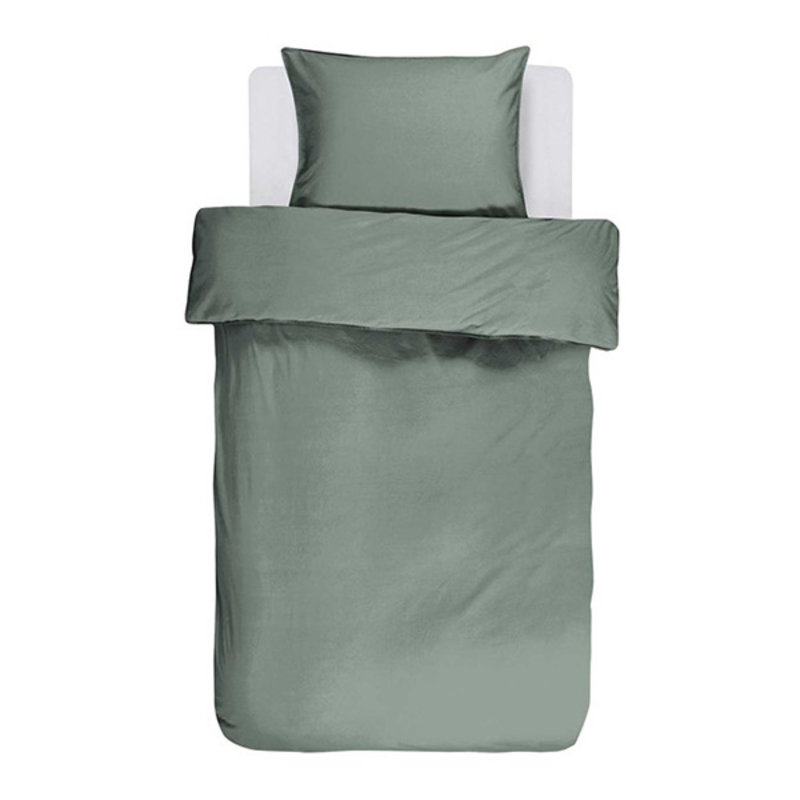 Essenza-collectie Essenza Filou Duvet cover 2p set 240x220+2/60x70 Sea green