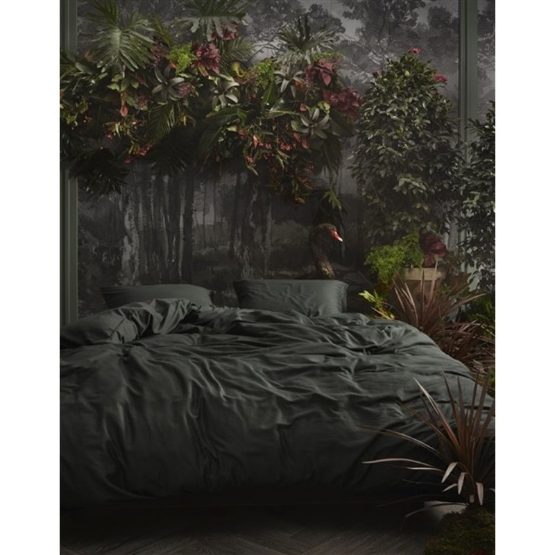 Essenza-collectie Essenza Filou Duvet cover 2p set 240x220+2/60x70 Anthracite