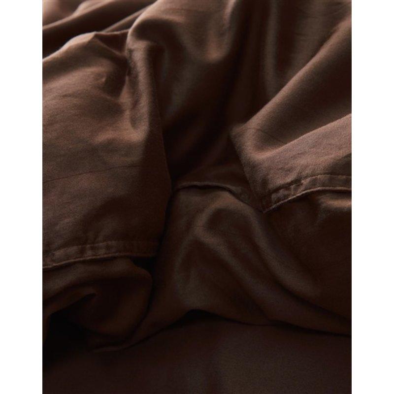 Essenza-collectie Essenza Filou Duvet cover 2p set 260x220+2/60x70 Chocolate