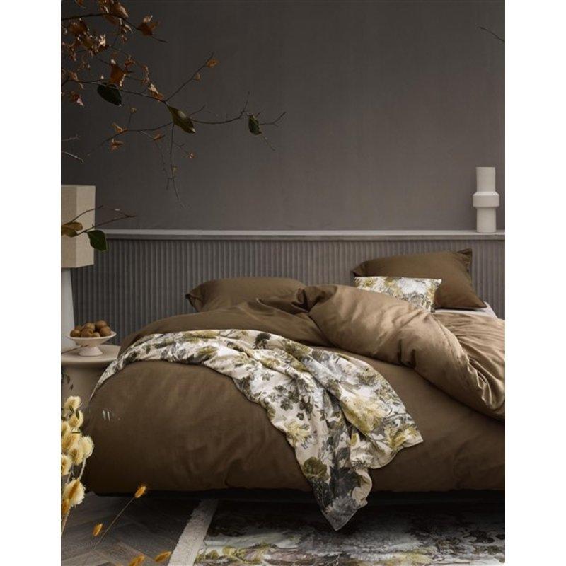 Essenza-collectie Essenza Filou Duvet cover 2p set 260x220+2/60x70 Cafe Noir