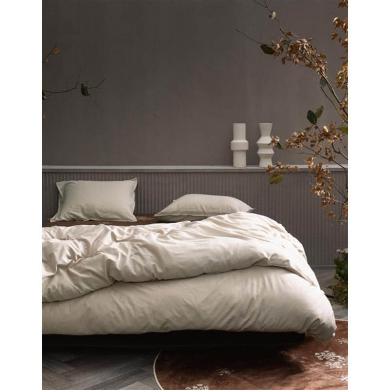 Essenza-collectie Essenza Filou Duvet cover 2p set 260x220+2/60x70 Cement