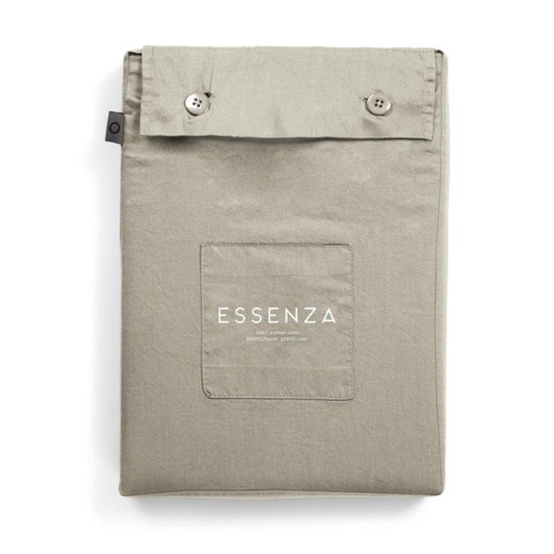 Essenza-collectie Dekbedovertrek Minte Cementgrijs