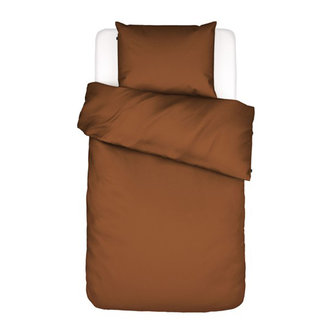 Essenza Essenza Filou Duvet cover 2p set 240x220+2/60x70 Leather brown
