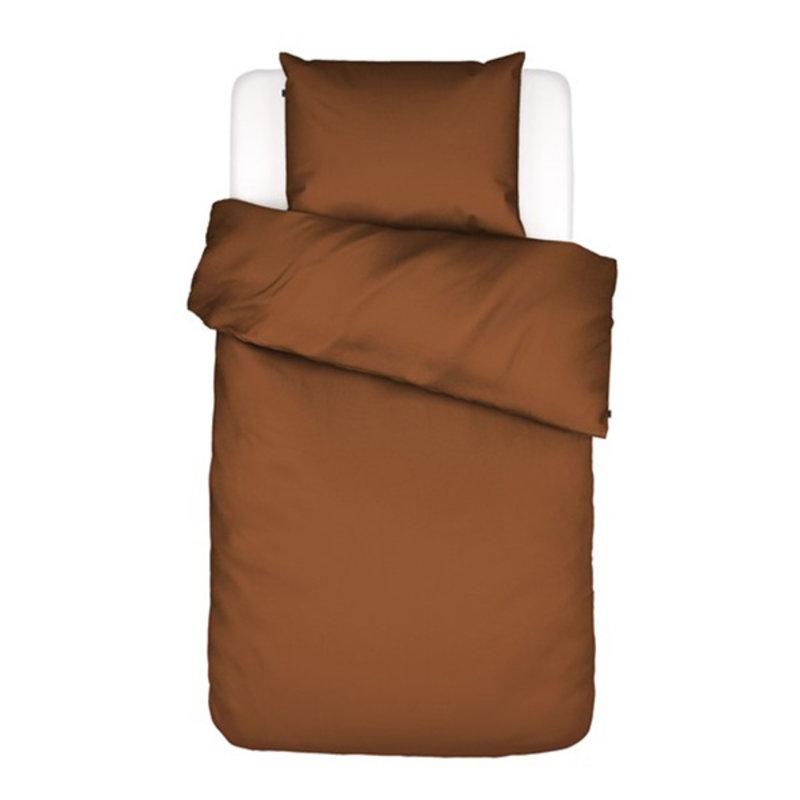 Essenza-collectie Essenza Filou Duvet cover 2p set 240x220+2/60x70 Leather brown