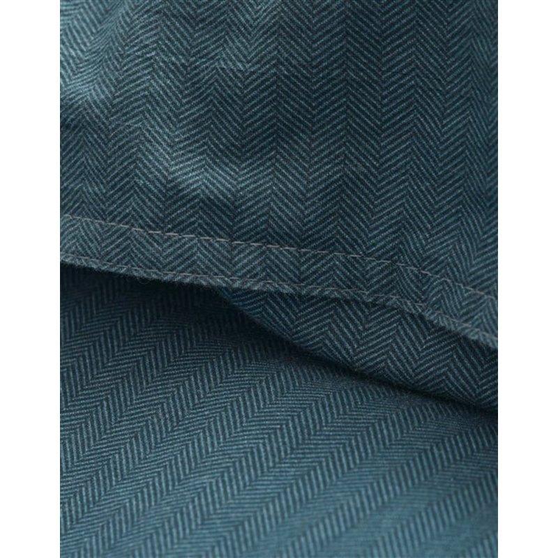 Marc O'Polo-collectie Dekbedovertrek Senja Diepblauw