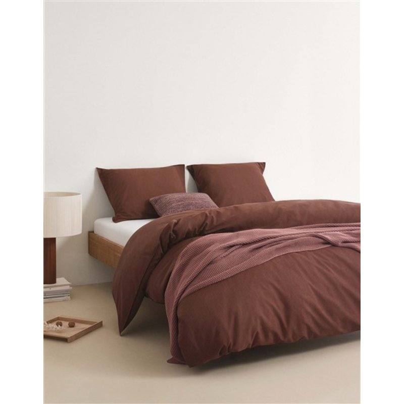 Marc O'Polo-collectie Marc O'Polo Duvet cover 1p set 140x220+60x70 Warm earth