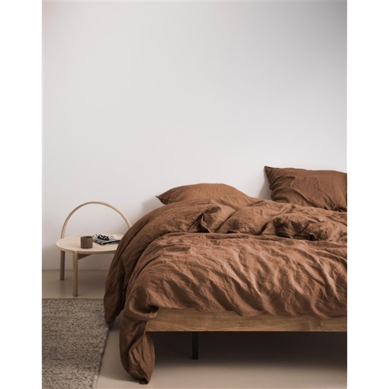 Marc O'Polo-collectie Marc O'Polo Duvet cover 1p set 140x220+60x70 Warm pecan