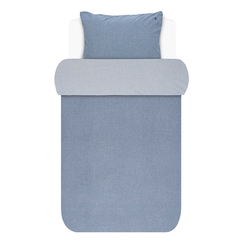 Marc O'Polo-collectie Dekbedovertrek Washed Chambray Blauw