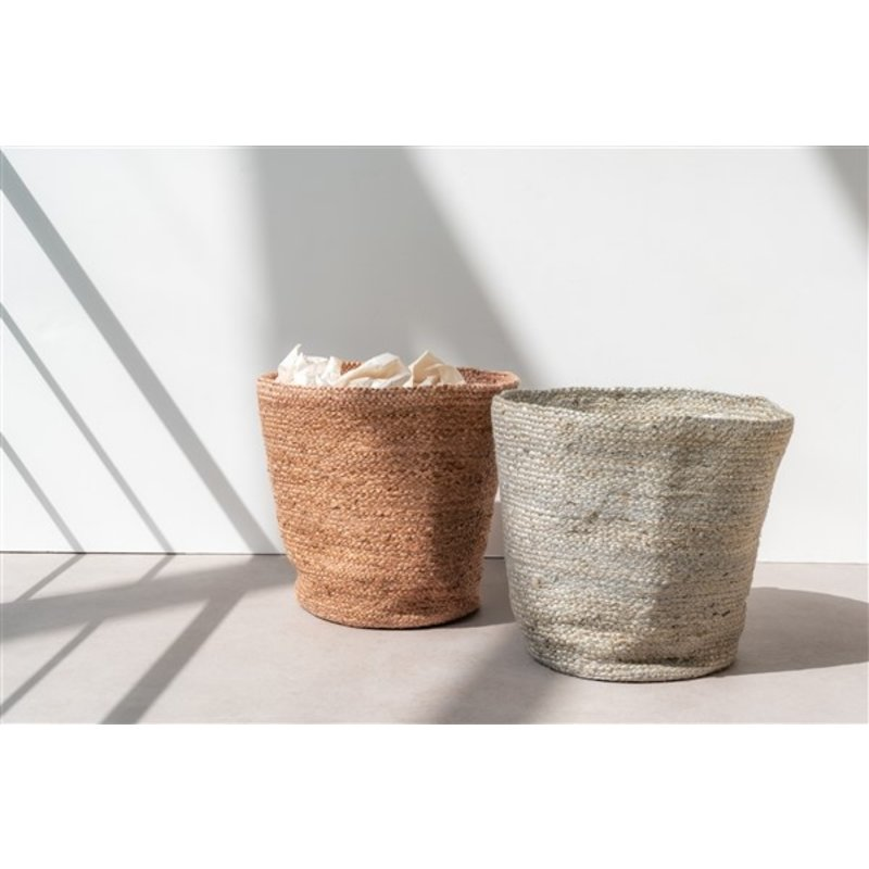 Urban Nature Culture-collectie Storage Basket Jute, Pink