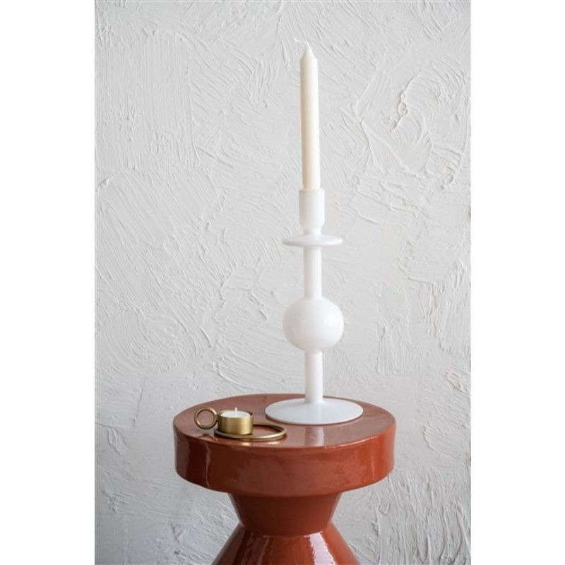 Urban Nature Culture-collectie Kandelaar Bulb gerecycled glas 30 cm