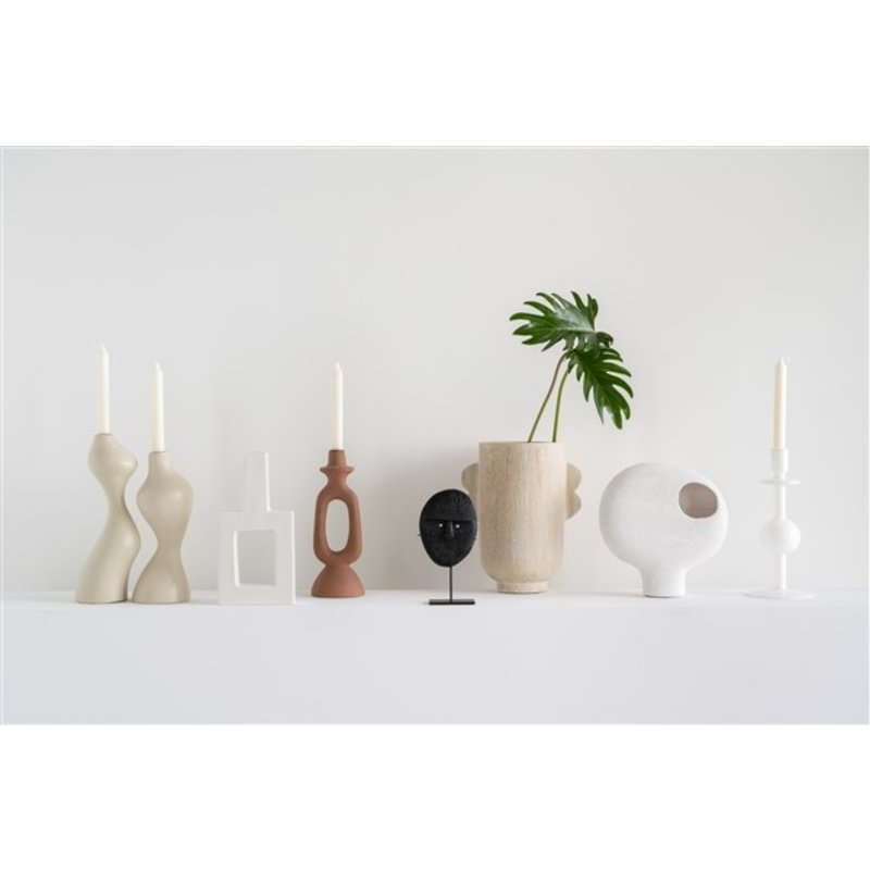 Urban Nature Culture-collectie Candle Holder Recycled Glass Bulb, 30Cm