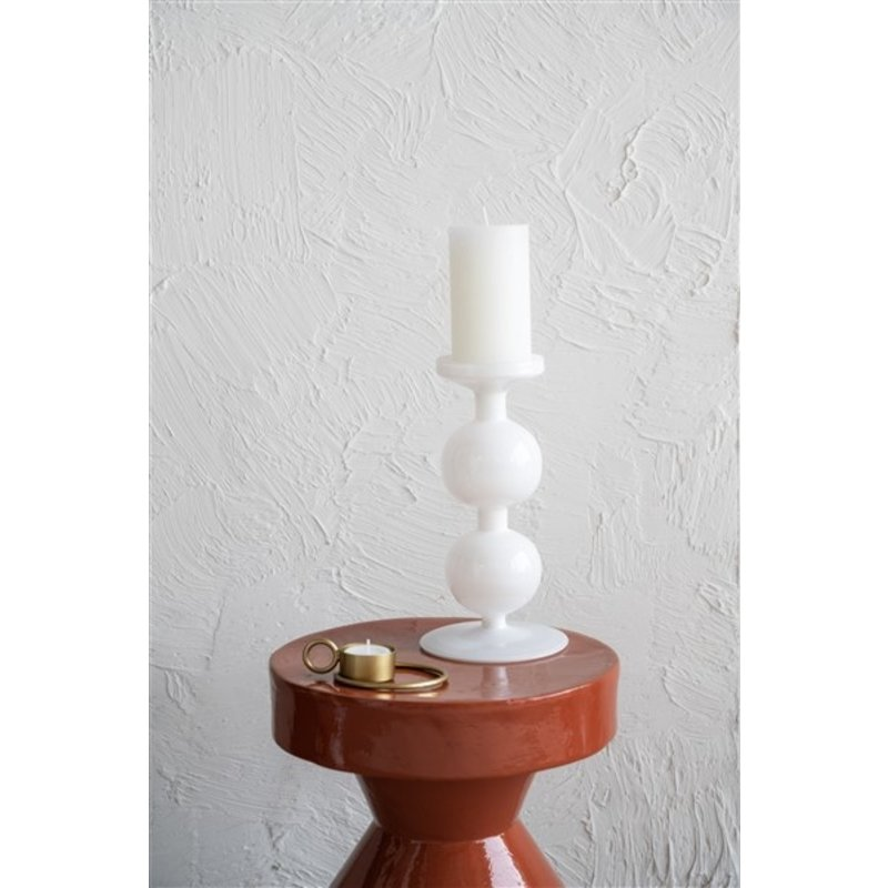 Urban Nature Culture-collectie Candle Holder Recycled Glass Bulb, 25Cm
