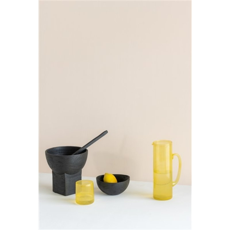Urban Nature Culture-collectie Jug Recycled Glass, Yolk Yellow