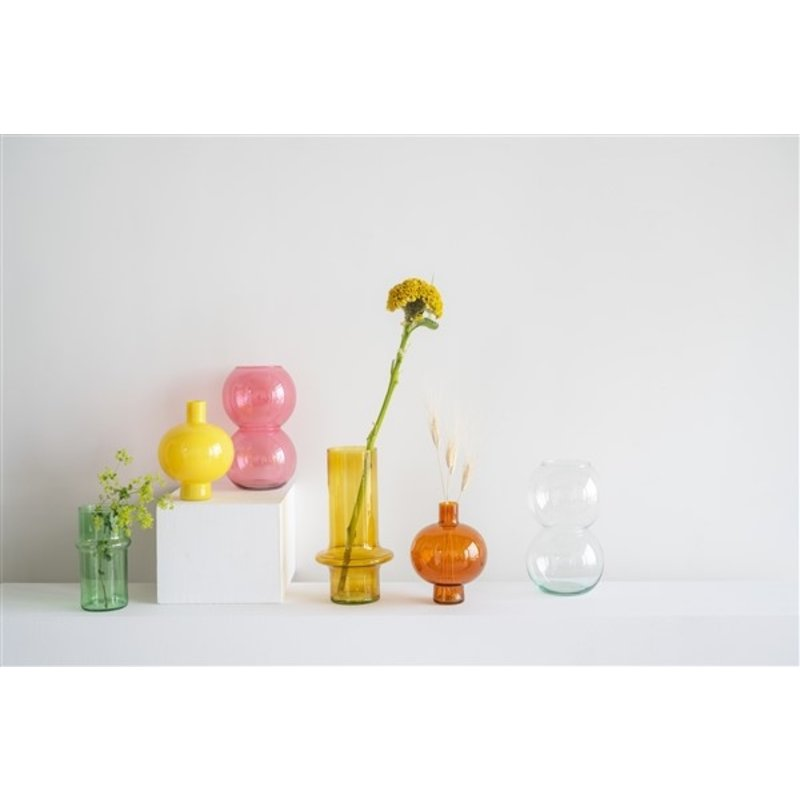 Urban Nature Culture-collectie Vase Recyled Glass Bulb