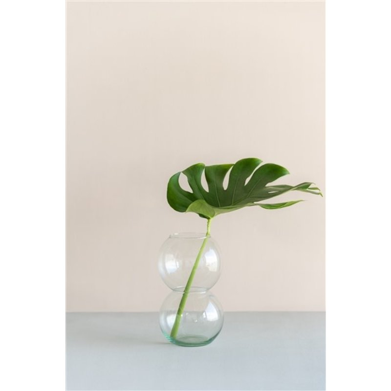 Urban Nature Culture-collectie Vaas Bulb transparant gerecycled glas