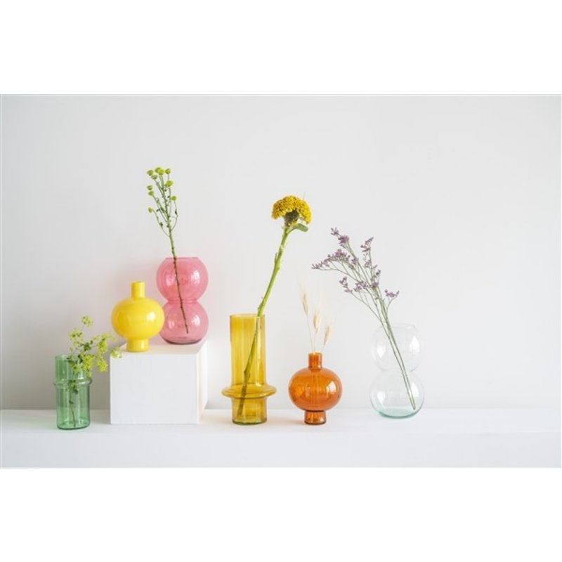 Urban Nature Culture-collectie Vaas gerecycled glas groen