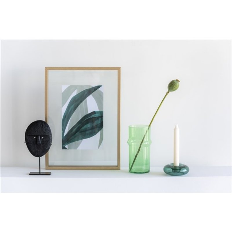 Urban Nature Culture-collectie Vase Recycled Glass, Green Eyes