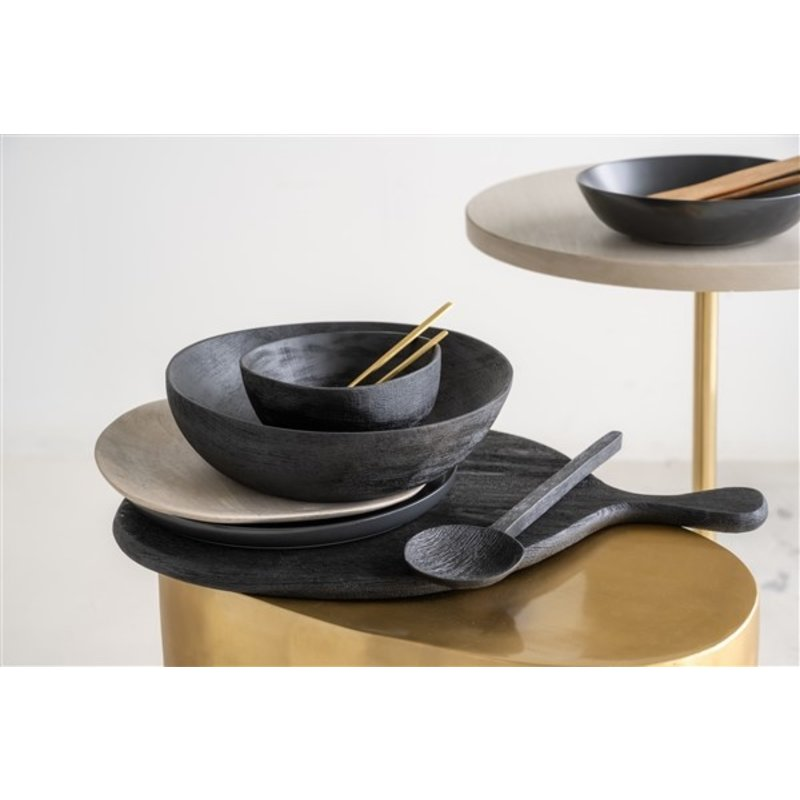 Urban Nature Culture-collectie Serving Plate Smoked Wood