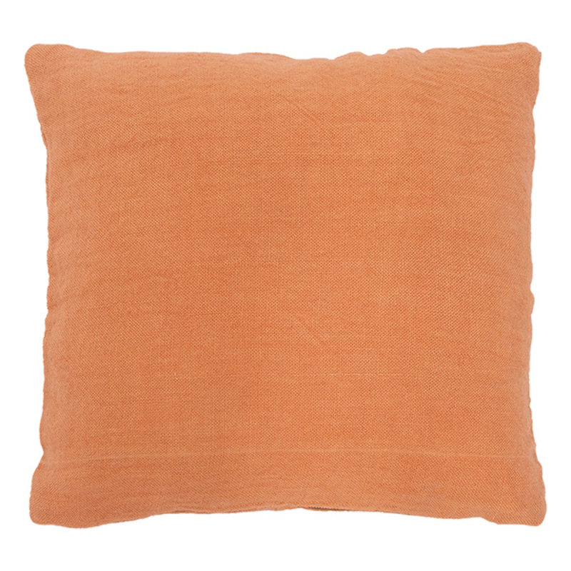Urban Nature Culture-collectie Cushion Washed Jute, Golden Oak