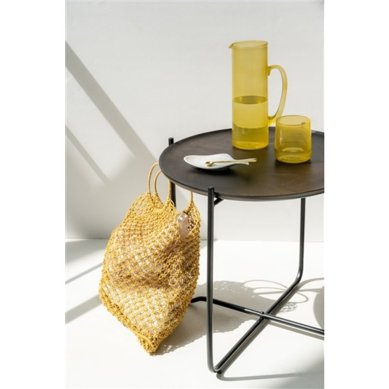 Urban Nature Culture-collectie Tas shopper geel