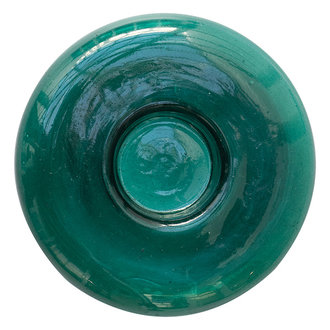 Urban Nature Culture Tealight Holder Recycled Glass, June Bug