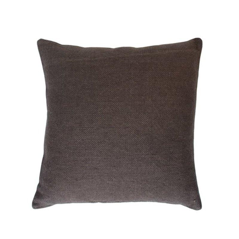 Urban Nature Culture-collectie Cushion Jute Slate Black, 45 * 45 Cm