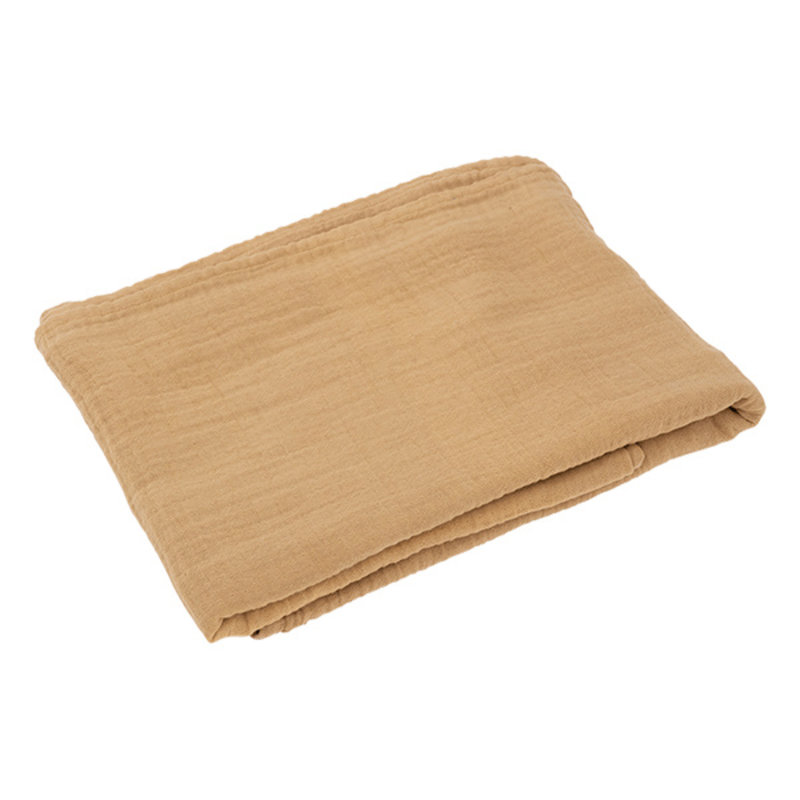 Urban Nature Culture-collectie Table Cloth Crinkle, Ocre