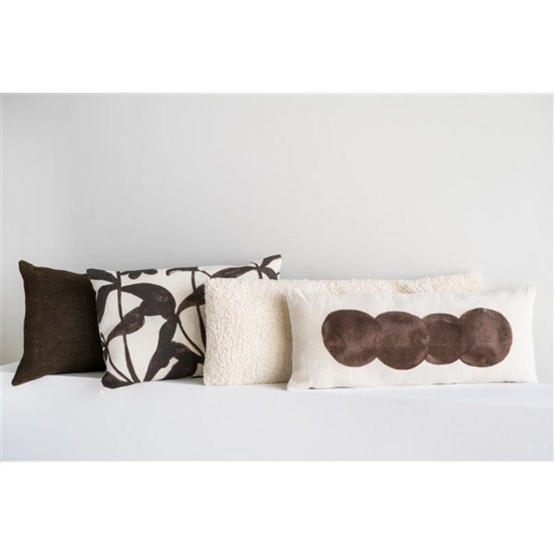 Urban Nature Culture-collectie Cushion Eri Silk, Cappuccino