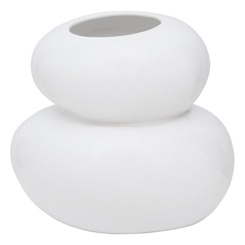 Urban Nature Culture-collectie Vase Pebbles, White