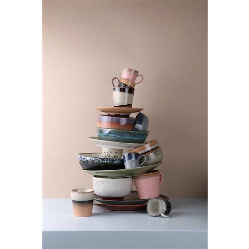 HKliving-collectie 70s ceramics: side plate, bark - set of 2