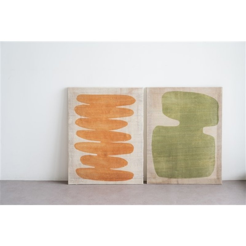 Urban Nature Culture-collectie Wall Deco Silk Minimalism, Buckskin