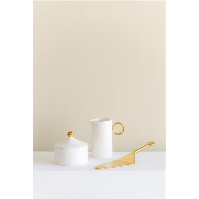 Urban Nature Culture-collectie Cake Server Brass In Giftpack