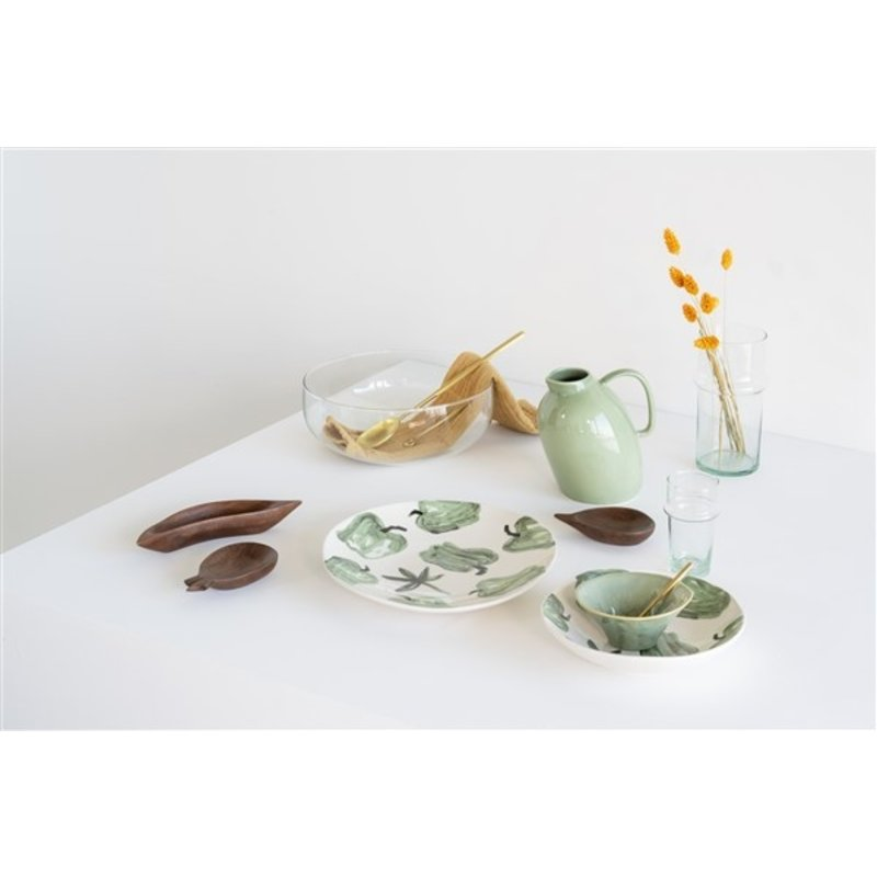 Urban Nature Culture-collectie Bowl Mango Wood Pineapple